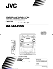 JVC CA-MXJ900 Instructions Manual
