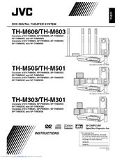 jvc th m603 dvd home theater system manuals rh manualslib com JVC TH-BA1 Sound Bar Home Theater Manual JVC Th31 XV
