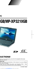 JVC MP-XP3210 Instructions Manual
