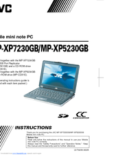 JVC MP-XP5230GB Instructions Manual