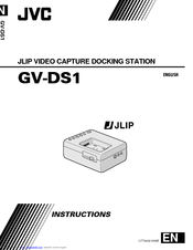 JVC GV-DS1 Instructions Manual