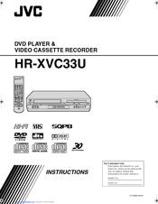 jvc hr xvc33u manuals rh manualslib com