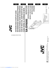 JVC SA-DV6000U Instructions Manual