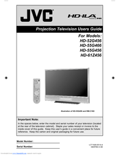 Jvc Hd 55g456 Manuals