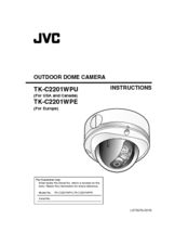 JVC TK-C2201WPE Instructions Manual