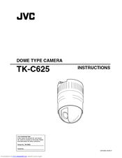 JVC TK-C625U Instructions Manual