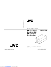 JVC TK-C1530U - CCTV Camera Instructions Manual