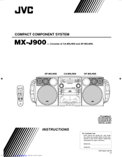 JVC MX-J900 Instructions Manual