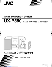 JVC FS-P550 Instructions Manual