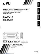 jvc rx 6042s manuals rh manualslib com JVC Speakers JVC Home Receivers