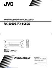 jvc rx 5050b instructions manual pdf download rh manualslib com JVC a V Receiver Thx JVC Home Receivers