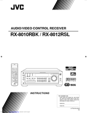 JVC RX-8012VSL Instructions Manual