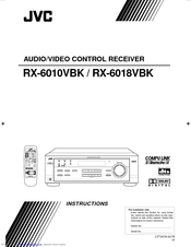 JVC RX-6010VBK Instructions Manual