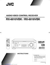 JVC RX-6010VBK Instructions Manual