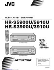 jvc hr s5900u super vhs vcr manuals rh manualslib com Operators Manual sony vcr instruction manual