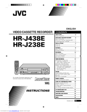 JVC HR-J238E Instructions Manual