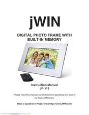 jwin digital camera manuals