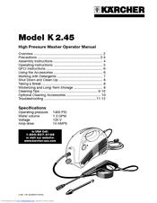 karcher k 2 45 manuals Dek Pressure Washer Parts Pressure Washer Repair Manuals
