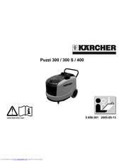 Kärcher Puzzi 300 S Operating Instructions Manual