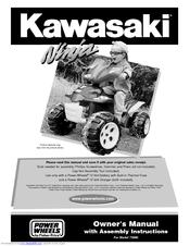 power wheels kawasaki ninja 73690 owner s manual assembly rh manualslib com Fisher-Price Power Wheels Kawasaki KFX 12 Volt Battery Powered Ride On Power Wheels Kawasaki Brute Force