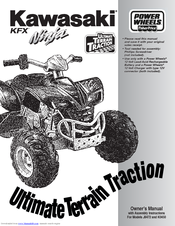 power wheels ninja j8472 owner s manual assembly instructions pdf rh manualslib com Target Power Wheels Kawasaki KFX Target Power Wheels Kawasaki KFX
