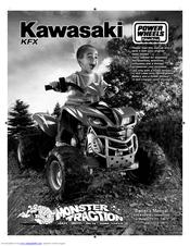 power wheels kawasaki kfx p9723 owner s manual assembly rh manualslib com Target Power Wheels Kawasaki KFX 12 Volt Power Wheels Barbie Kawasaki KFX