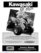 power wheels kawasaki kfx ninja b9272 manuals rh manualslib com Power Wheels Kawasaki KFX Ninja Fisher-Price Power Wheels Kawasaki KFX 12 Volt Battery Powered Ride On