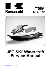 kawasaki jet ski stx 15f service manual pdf download rh manualslib com kawasaki stx 12f owners manual kawasaki stx 15f manual