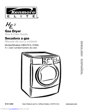 Kenmore 110.9787 Use And Care Manual