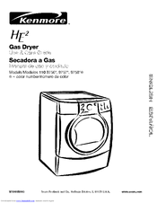 Kenmore 110.9756 Series Use & Care Manual