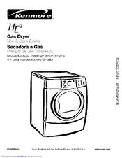 kenmore 9757 6 7 cu ft he2 gas dryer manuals rh manualslib com kenmore he2 dryer manual natural gas kenmore he2 dryer parts manual