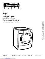 Kenmore 110. Series Use & Care Manual
