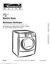 Kenmore ELITE C8587 Use & Care Manual