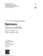 Kenmore 251.25011 Use And Care Manual