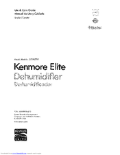 Kenmore 251.90701 Use And Care Manual
