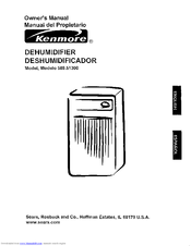 Kenmore 580.513 Owner's Manual