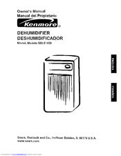 Kenmore 580.5145 Owner's Manual
