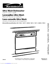 Kenmore 665.15812 Use & Care Manual