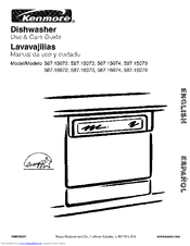 Kenmore 587.15072 Use And Care Manual