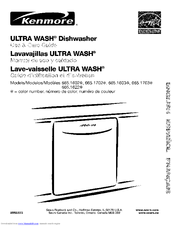 Kenmore 665.1 603 Use & Care Manual