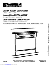 kenmore ultra wash 665 16529 manuals rh manualslib com  kenmore ultra wash dishwasher wiring diagram