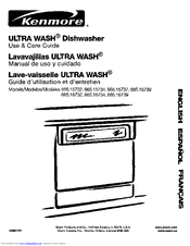Kenmore 665.15734 Use And Care Manual