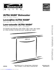 Kenmore Elite Ultra Wash 665.1629 Series Use & Care Manual