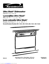 Kenmore Ultra Wash 665.15529 Use And Care Manual
