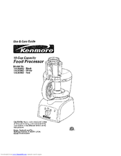Kenmore 100.82002 Use And Care Manual