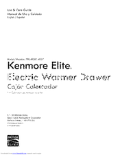 Kenmore 790.4931 Series Use And Care Manual