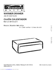 Kenmore 790.492 Use And Care Manual
