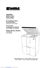 Kenmore 183.136013 Use And Care Manual