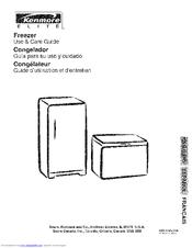kenmore freezer use and care manual pdf download rh manualslib com Kenmore Frostless 25 Kenmore Frostless Upright Freezer