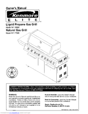 Kenmore 141 16690 Owner's Manual